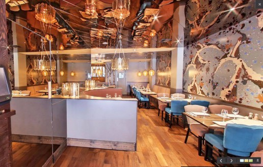 Interior Design - Izgara Restaurant London