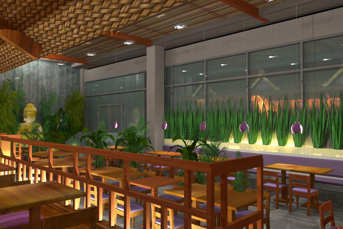 Acelya turkan interior design restaurant london yum